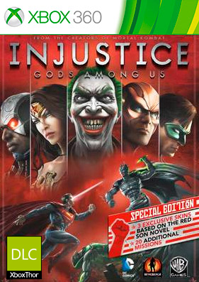 Скачать торрент Injustice: Gods Among Us [DLC/GOD/RUS] на xbox 360 без регистрации