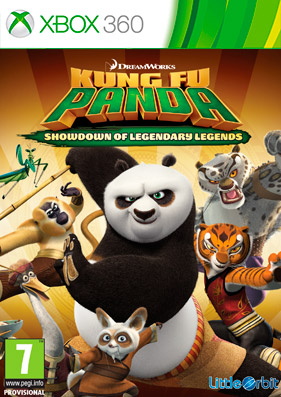 Kung Fu Panda: Showdown of Legendary Legends [REGION FREE/GOD/ENG]