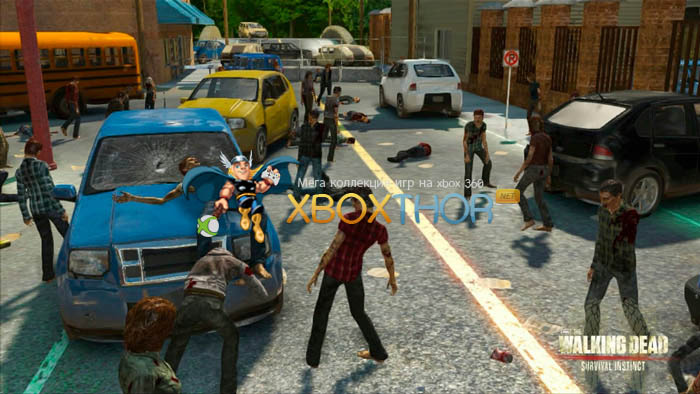 Скачать торрент The Walking Dead: Survival Instinct [REGION FREE/GOD/RUS] на xbox 360 без регистрации