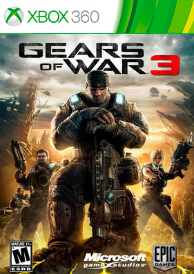 Gears of War 3 [REGION FREE/RUS] (LT+2.0)
