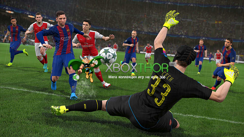 Скачать торрент Pro Evolution Soccer / PES 2018 [PAL/RUS/MULTI7] (LT+2.0) на xbox 360 без регистрации
