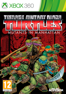 Скачать торрент Teenage Mutant Ninja Turtles: Mutants in Manhattan [REGION FREE/ENG] (LT+3.0) для xbox 360 бесплатно