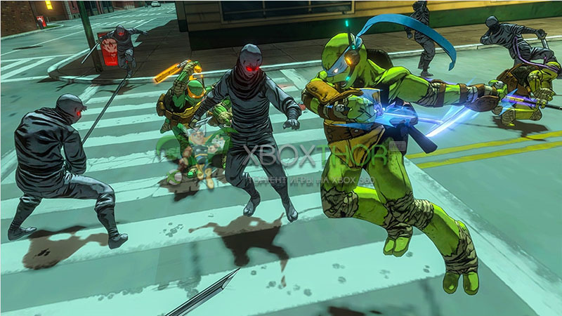 Скачать торрент Teenage Mutant Ninja Turtles: Mutants in Manhattan [REGION FREE/ENG] (LT+3.0) на xbox 360 без регистрации