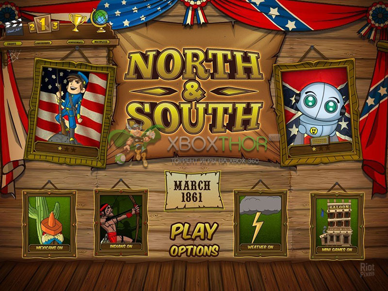 Скачать торрент The Bluecoats - North vs South [XBLA/FREEBOOT/ENG] на xbox 360 без регистрации