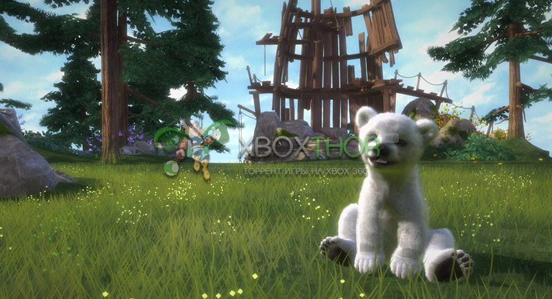 Скачать торрент Kinectimals: Now with Bears! [REGION FREE/RUS] (LT+3.0) на xbox 360 без регистрации
