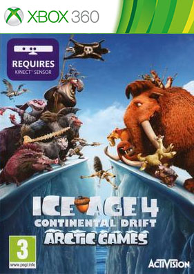 Ice Age 4: Continental Drift - Arctic Games [FREEBOOT/RUSSOUND]