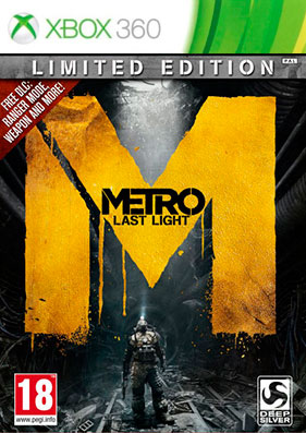 Скачать торрент Metro: Last Light - Limited Edition [REGION FREE/RUSSOUND] (LT+3.0) для xbox 360 бесплатно