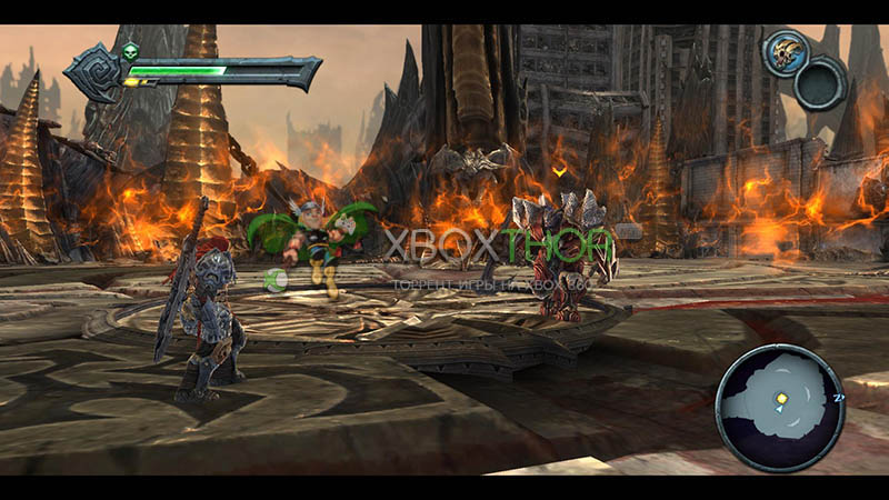 Скачать торрент Darksiders: Wrath of War [FREEBOOT/RUSSOUND] на xbox 360 без регистрации
