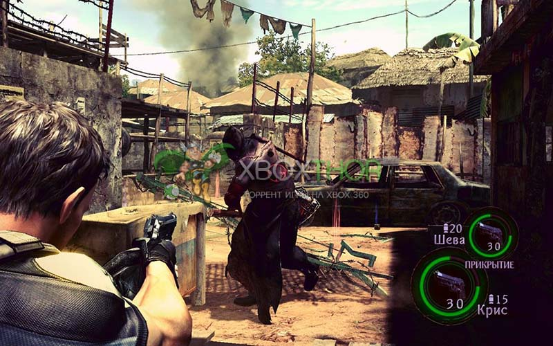 Скачать торрент Resident Evil 5 Gold Edition [DLC/FREEBOOT/RUSSOUND] на xbox 360 без регистрации