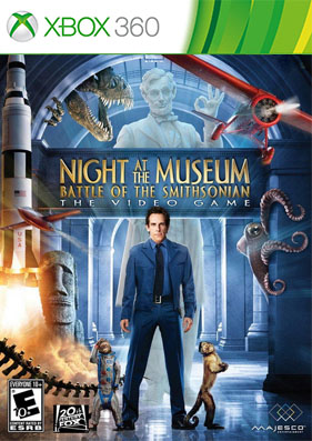 Night at the Museum: Battle of the Smithsonian [GOD/RUS]