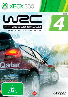 WRC: FIA World Rally Championship 4 [GOD/ENG]