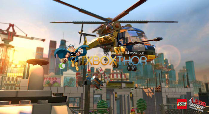 Скачать торрент The LEGO Movie Videogame [GOD/RUS] на xbox 360 без регистрации