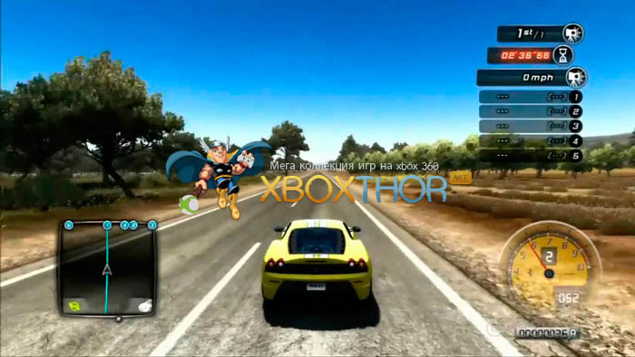 Скачать торрент Test Drive Unlimited 2 [REGION FREE/GOD/RUS] на xbox 360 без регистрации