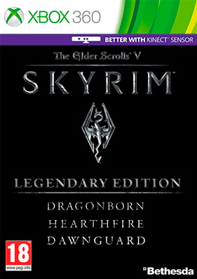 Скачать торрент The Elder Scrolls V: Skyrim - Legendary Edition [DLC/GOD/RUSSOUND] для xbox 360 бесплатно