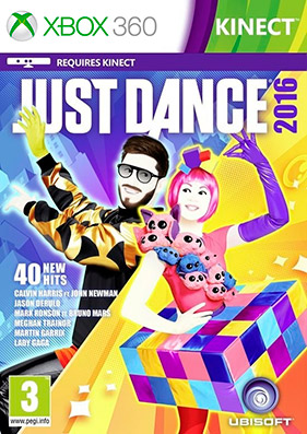 Just Dance 2016 [REGION FREE/GOD/ENG]