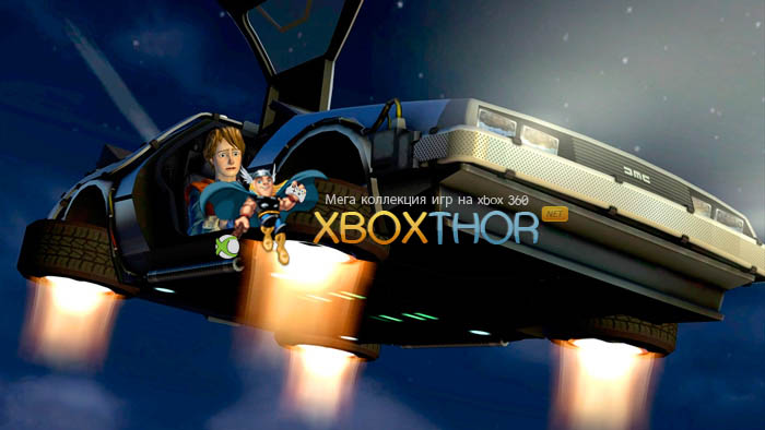 Скачать торрент Back to the Future: The Game [REGION FREE/GOD/ENG] на xbox 360 без регистрации