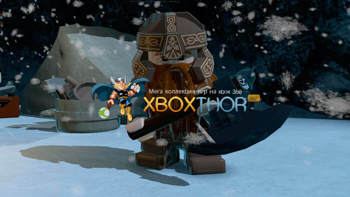 Скачать торрент LEGO The Lord of the Rings [REGION FREE/RUS] (LT+2.0) на xbox 360 без регистрации