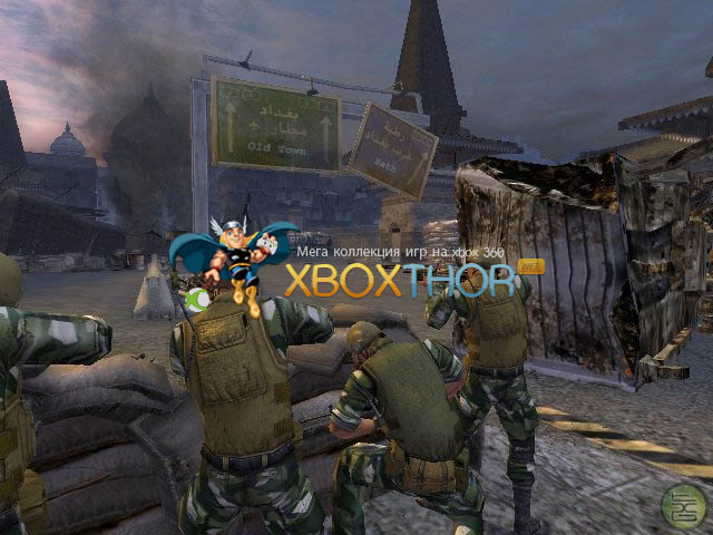 Скачать торрент Full Spectrum Warrior [PAL/RUS] на xbox Original без регистрации