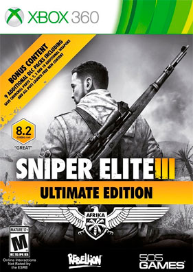 Скачать торрент Sniper Elite 3: Ultimate Edition [REGION FREE/RUSSOUND] (LT+2.0) для xbox 360 бесплатно