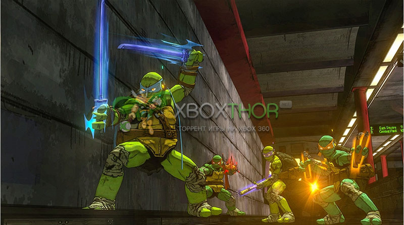 Скачать торрент Teenage Mutant Ninja Turtles: Mutants in Manhattan [GOD/FREEBOOT/ENG] на xbox 360 без регистрации