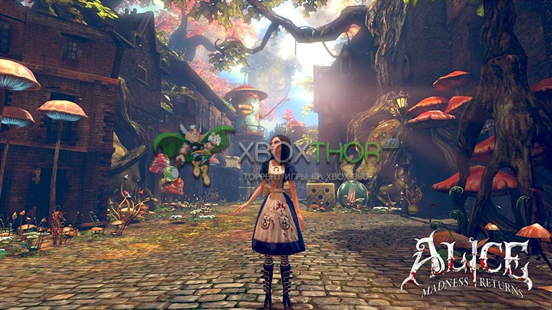 Скачать торрент Alice: Madness Returns [REGION FREE/RUS] на xbox 360 без регистрации