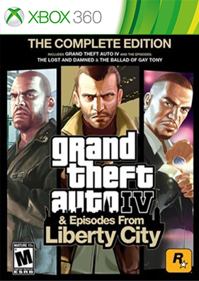 Скачать торрент Grand Theft Auto IV: Complete Edition [DLC/FREEBOOT/RUS] для xbox 360 бесплатно