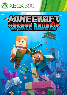 Скачать торрент Minecraft the update aquatic: Xbox 360 Edition [FULL/XBLA/DLC/TU/RUS] для xbox 360 бесплатно