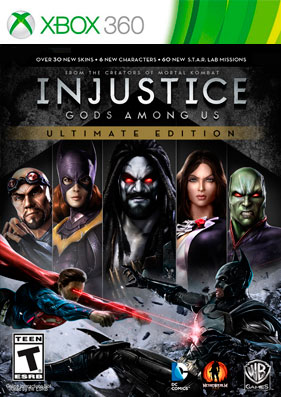 Скачать торрент Injustice: Gods Among Us: Special Edition [DLC/GOD/RUS] для xbox 360 бесплатно
