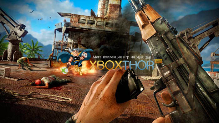 Скачать торрент Far Cry 3 - Deluxe Edition [GOD/FREEBOOT/DLC/RUSSOUND] на xbox 360 без регистрации