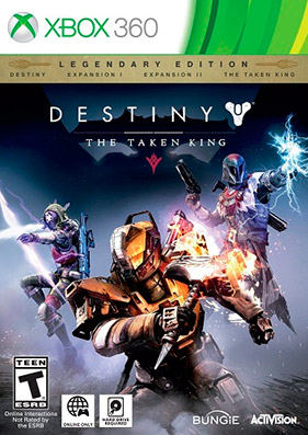Скачать торрент Destiny: The Taken King. Legendary Edition [REGION FREE/ENG] (LT+3.0) для xbox 360 бесплатно