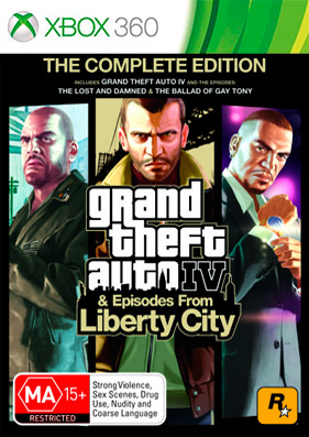 Скачать торрент Grand Theft Auto: Episodes from Liberty City [GOD/RUS] для xbox 360 бесплатно