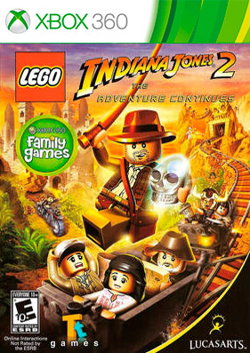 Скачать торрент LEGO Indiana Jones 2: The Adventure Continues [REGION FREE/GOD/RUS] для xbox 360 бесплатно