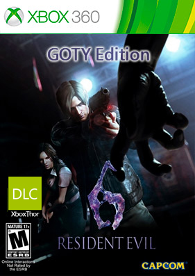 Скачать торрент Resident Evil 6 GOTY Edition [DLC/GOD/RUSSOUND] на xbox 360 без регистрации